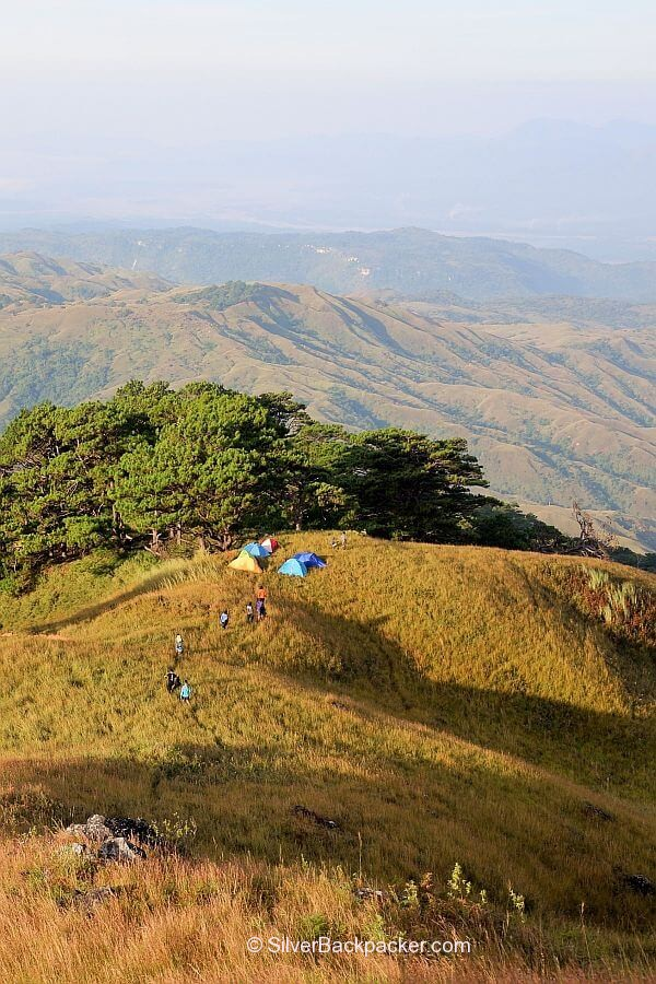 Apao Rolling Hills from Summit of Mt Pisusok