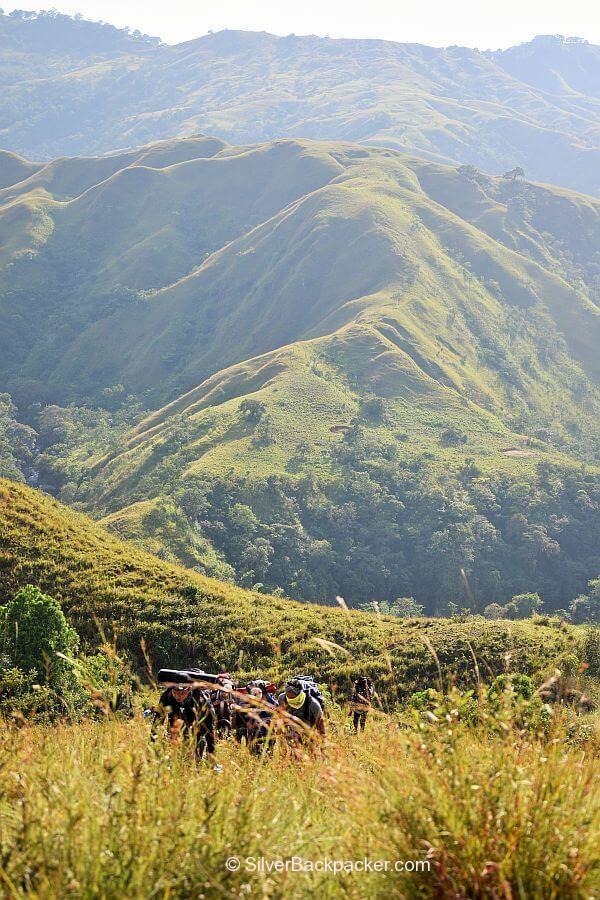 Climbing Mt. Pisusok, Tineg, Abra