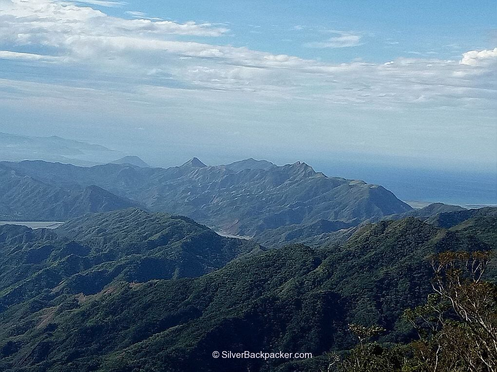 Ilocos Sur Coastline from Mt Bullagao , Abra