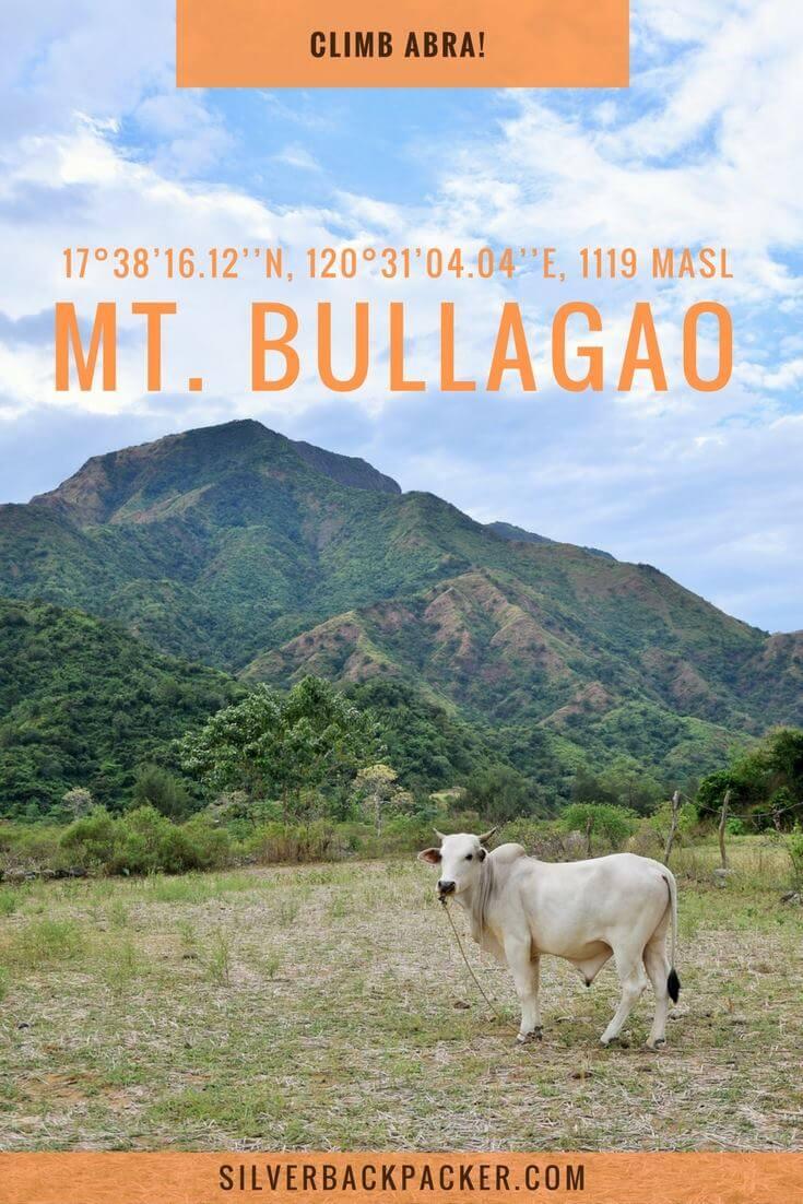 Mt Bullagao, Langiden, Abra. also known as The Sleeping Beauty. Climb Abra