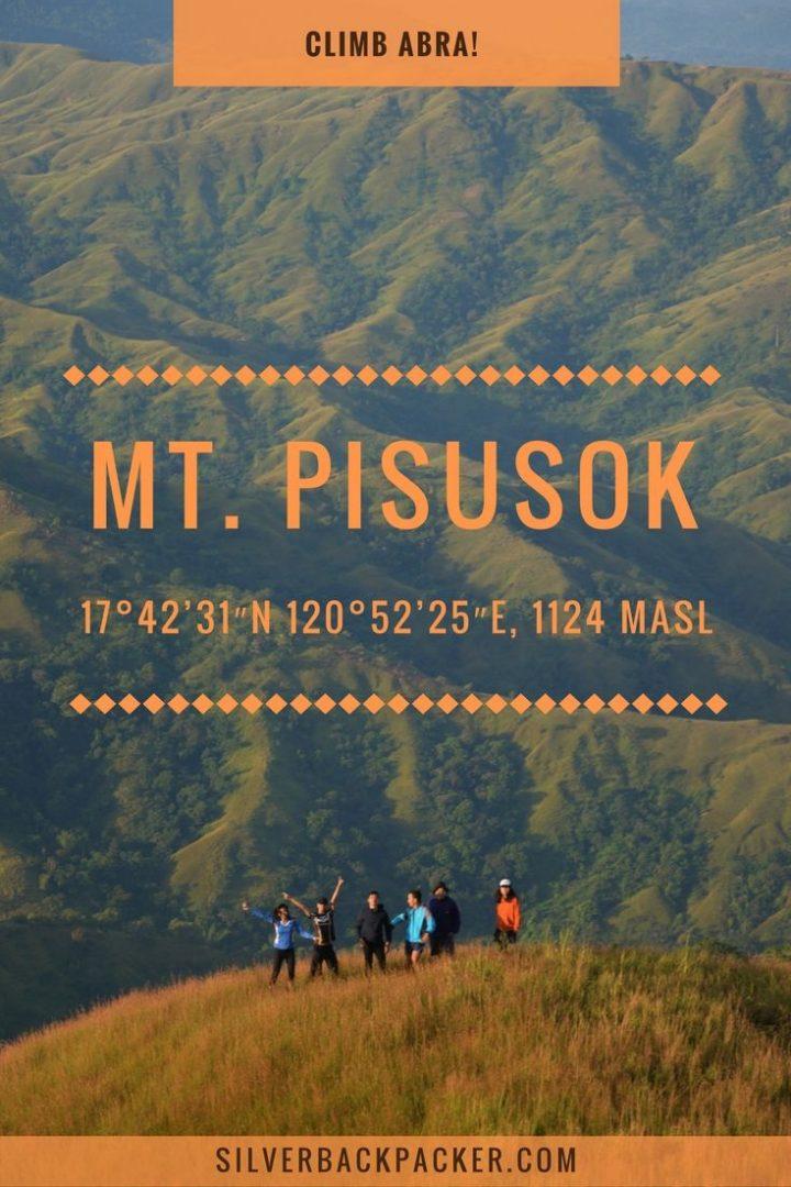 Mt Pisusok, Tineg, Abra