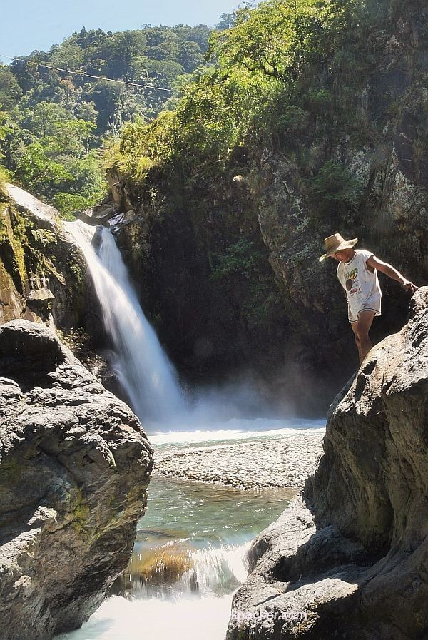 The Powerful Basakal Falls, Daguioman, Abra