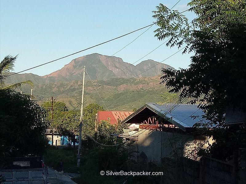 View of Mt Bullagao from Calaba, Bangued, Abra