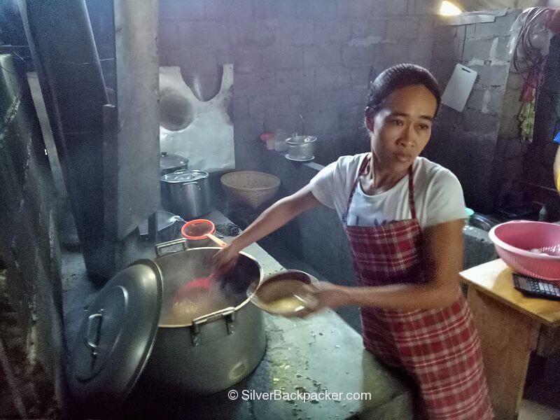 Domengs Pancit Miki cooking Tayum