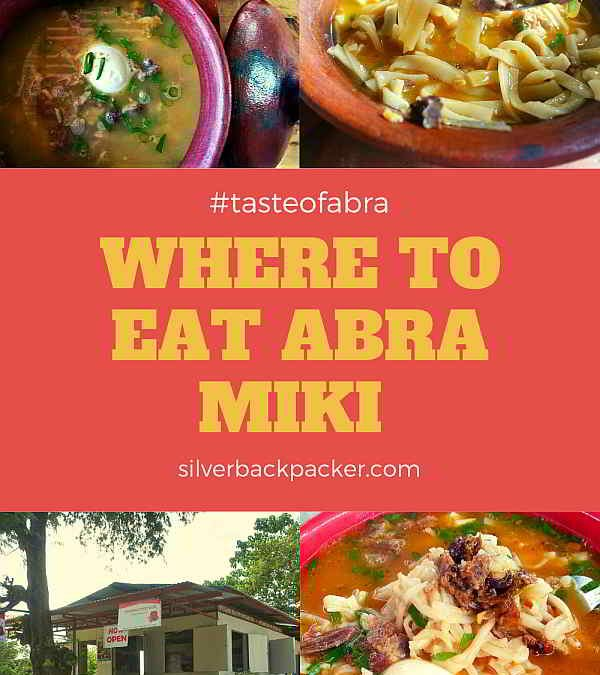 Where to Eat Pancit Miki in Abra