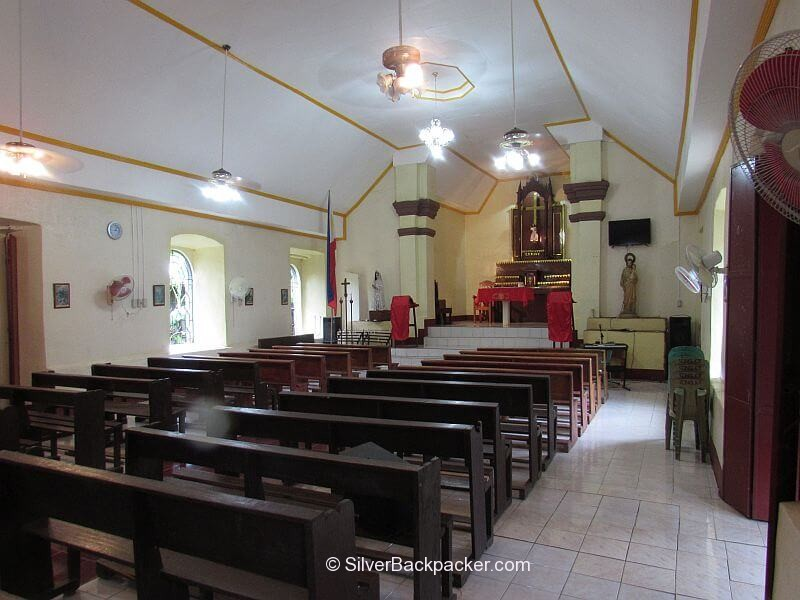Interior Iglesia Filipina Independiente Church, La Paz, Abra