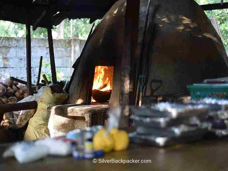 Ingredients to make bibingka