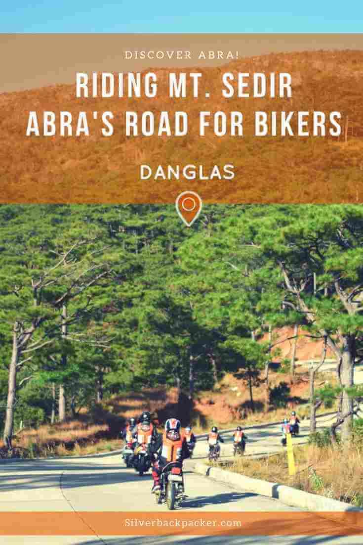 Mt Sedir Danglas Abra bikers road in Abra