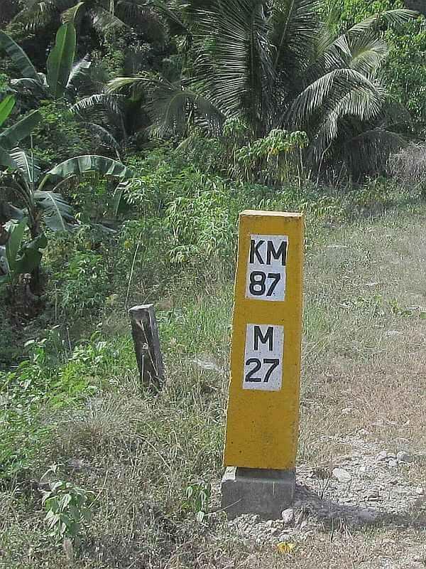 Sibuyan Circular kilometre post 87