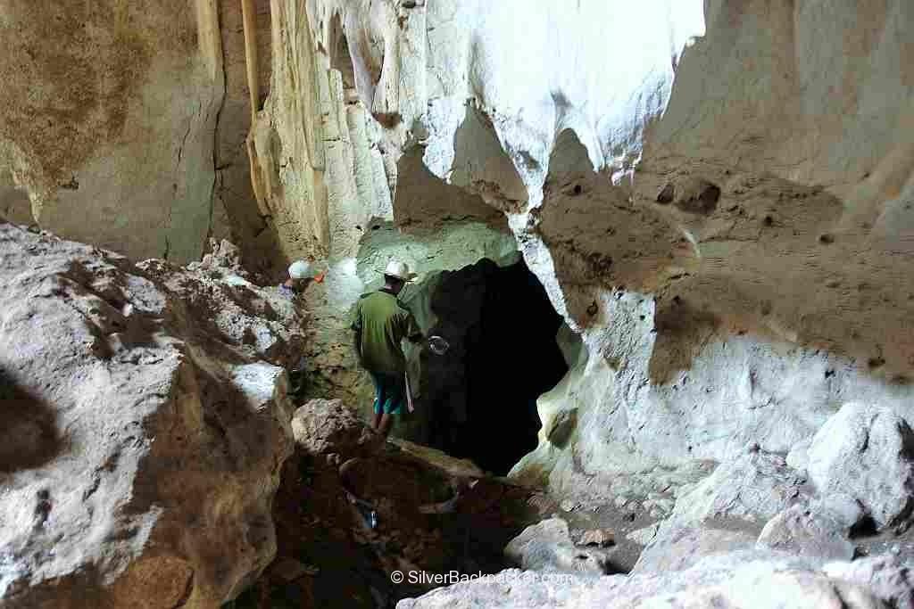 entrance to Tabong Cave Mt Sedir Danglas Abra