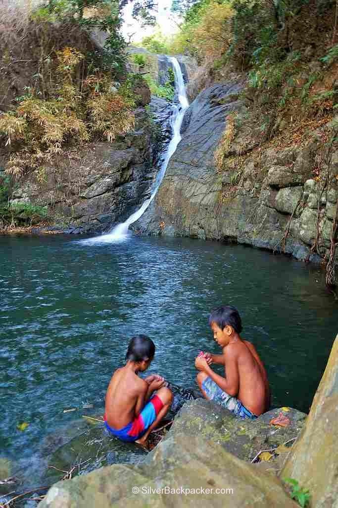Summer in Abra at Sinublan Falls, Lablabinag, Lacub, Abra