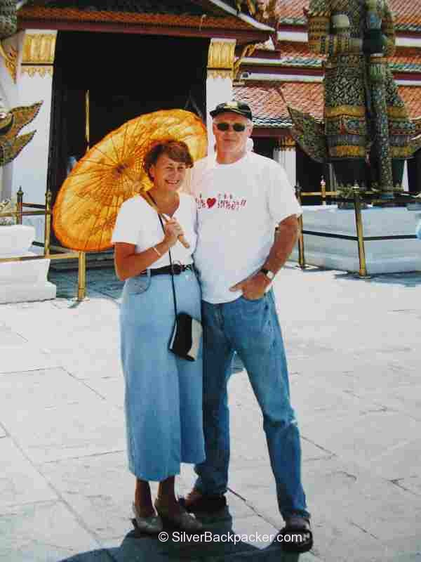 Travelling with Mum in Thailand 2004