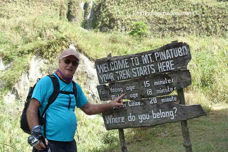 Do it while you're Young at Mt Pinatubo, Philippines