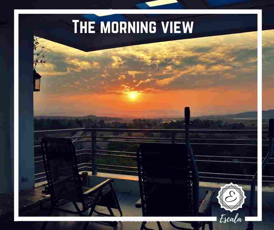 Escala Homestay morning view sunrise