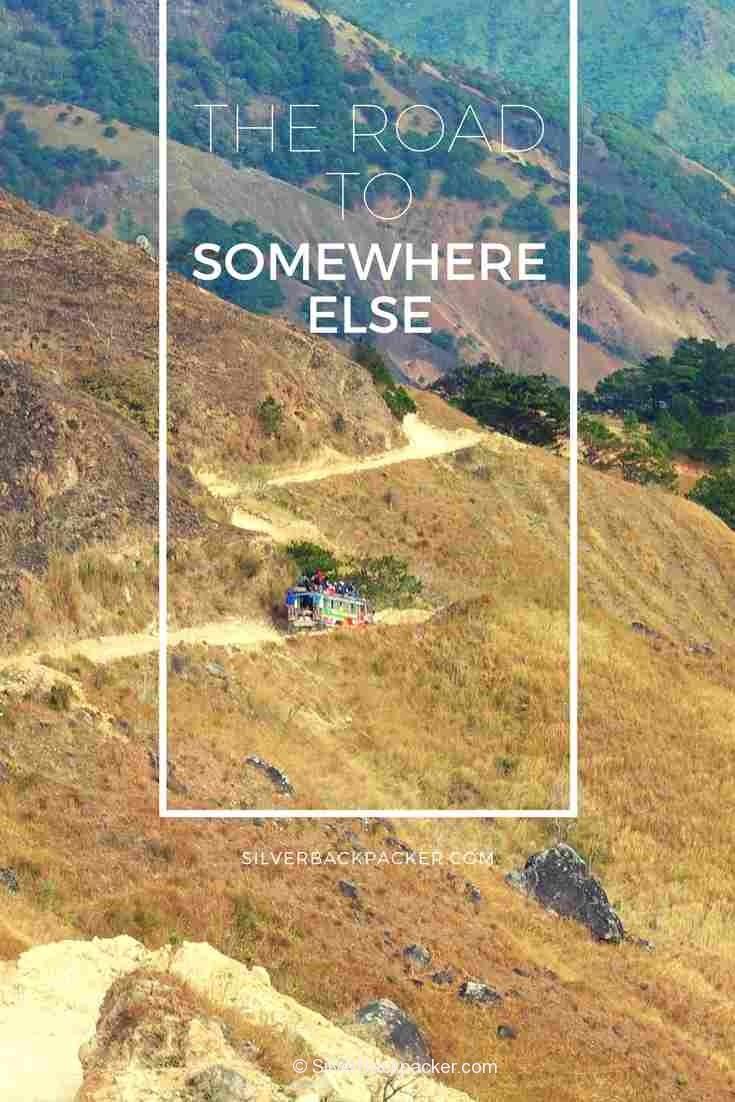 Road to Somewhere Else Agsimao Tineg Abra Philippines