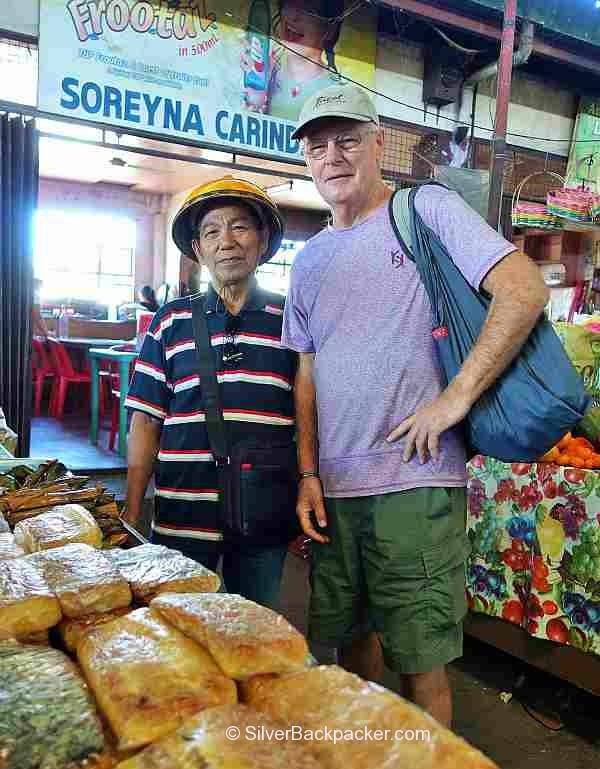 Meeting Teofilo Garcia in Bangued Public Market