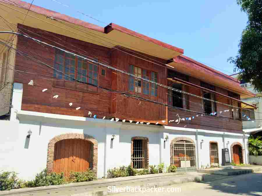 Paredes Ancestral House, Bangued, Abra with Historical Markers outside