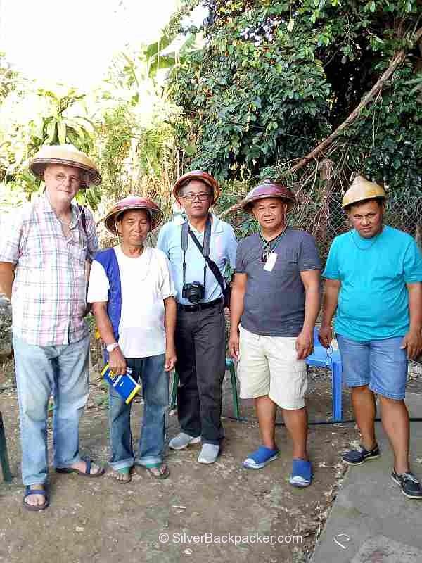 Teofilo Garcia with the Abramazing Team