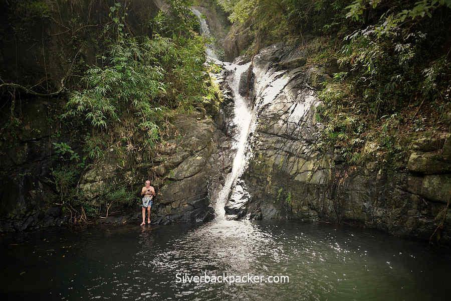 Hull & Stern Adventure dry bag Sinublan Falls, Lablabinag, Abra with Hull and Stern