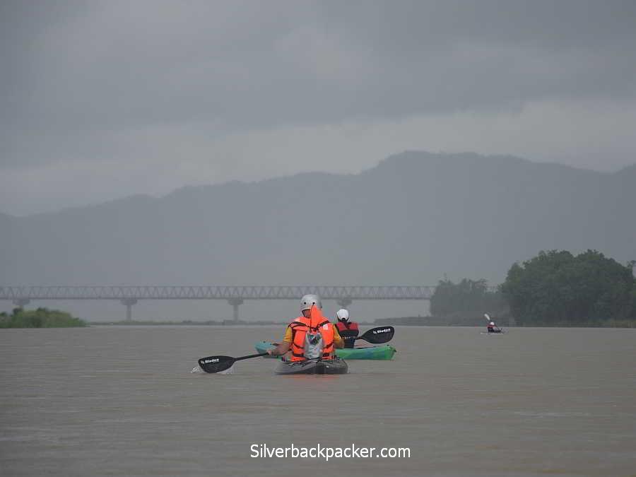Hull and Stern adventure bag Kayaking Abra River near Calaba, Abra Hull & Stern adventure bag