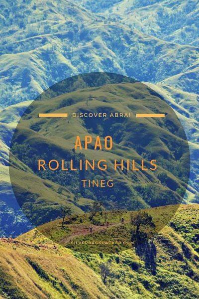 Apao Rolling Hills, Tineg, Abra, Philippines