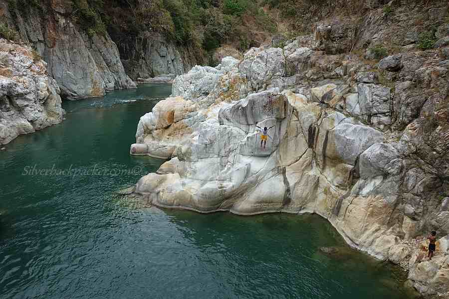 Cliff Jumping at Piwek Rock Formations, Tineg, Abra