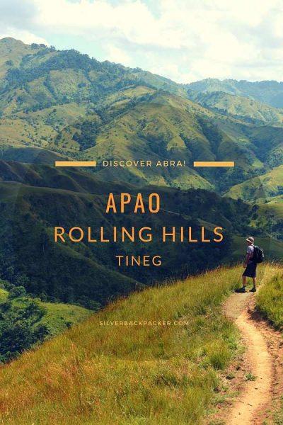 Hiking Apao Rolling Hills, Tineg, Abra, Philippines