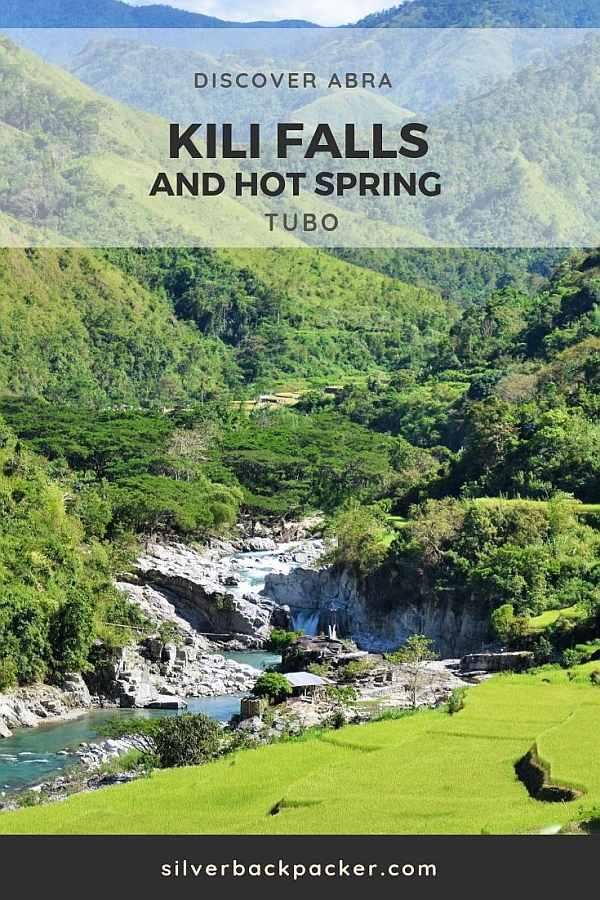 Kili Falls, Hotspring Tubo Abra Philippines