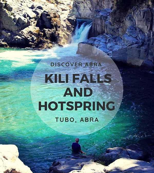 Kili Falls and Hotspring, Tubo | Abra Travel Guide