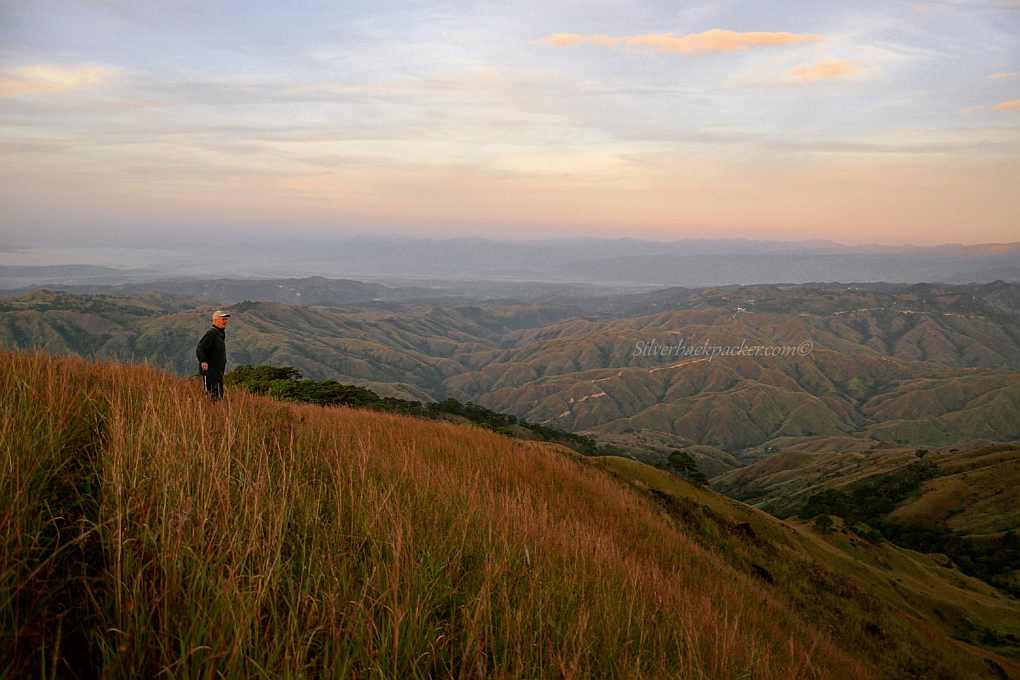 Looking over Apao Rolling Hills from Mt Pisusok summit, Tineg, Abra