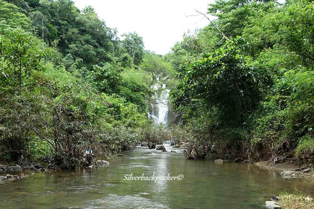 Pantoc Falls view from downstream. San Quintin, Abra