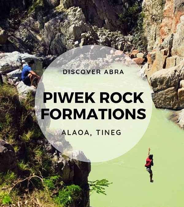 Piwek Rock Formations, Alaoa, Tineg, Abra