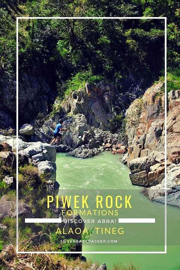 Piwek Rock Formations, Alaoa, Tineg Abra. Biyahe Ni Drew. Drew cliff jumping