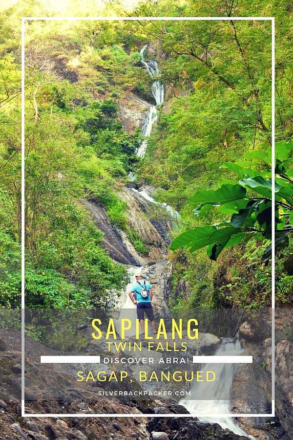 Sapilang Falls also known as Sapilang Twin Falls, Sagap, Abra