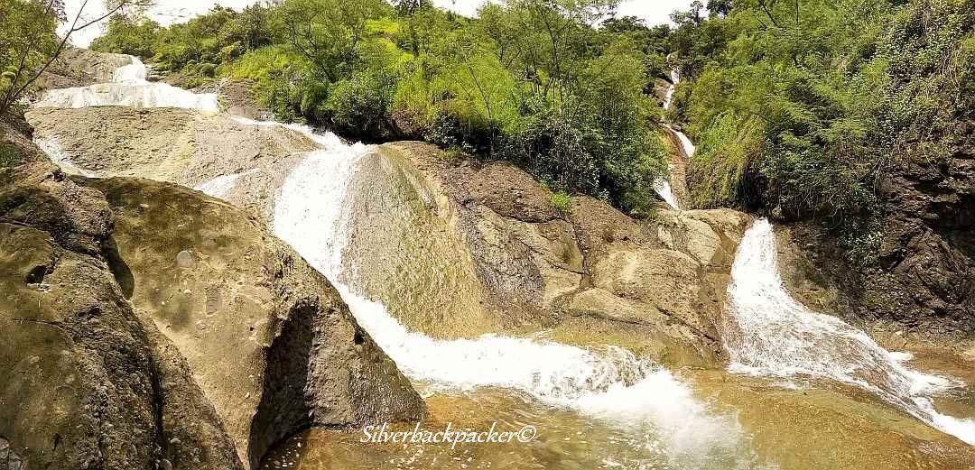 Sapilang Twin Falls, Sapilang Falls, Sagap, Abra