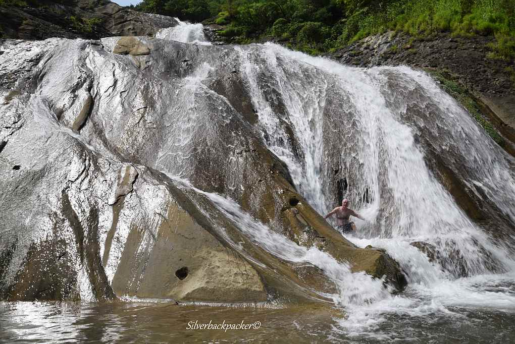 The left side Sapilang Falls, Sagap, Bangued, Abra