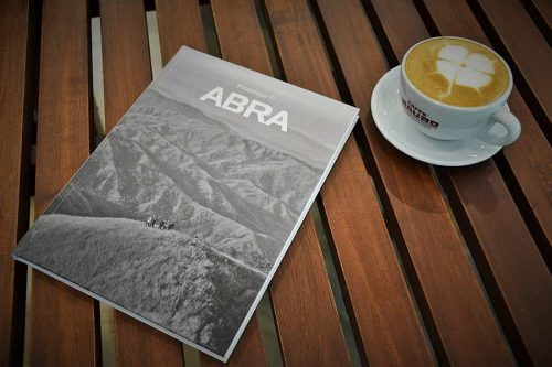 Coffee and Abra Coffee Table Book by Kat Bayaban