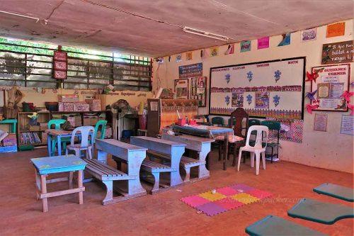 Liguis Elementary School Classroom, La Paz, Abra, Philippines