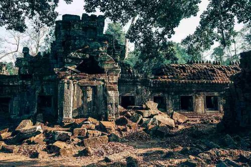 Temple ruins in Siem Reap Cambodia