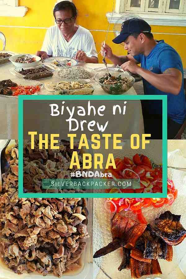 The taste of Abra, Philippines. Anrenian Food