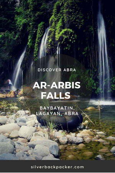 Ararbis Falls, Baybayatin, Lagayan. Waterfalls of Abra