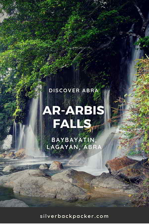 Ar-arbis Falls, Lagayan Waterfalls of Abra