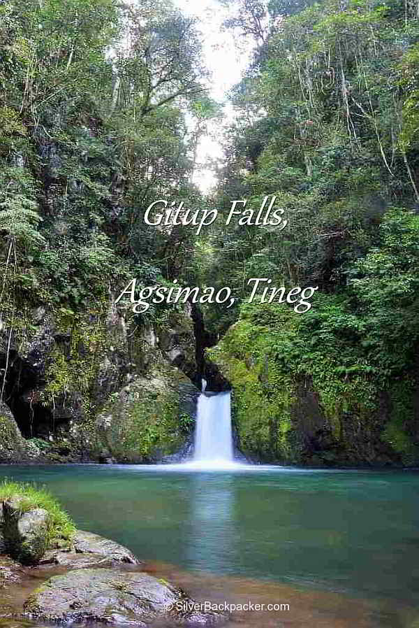 Gitup Falls, Agsimao, Tineg, Waterfalls of Abra,Philippines