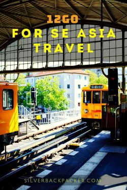 12Go Asia Travel book tickets for se asia travel