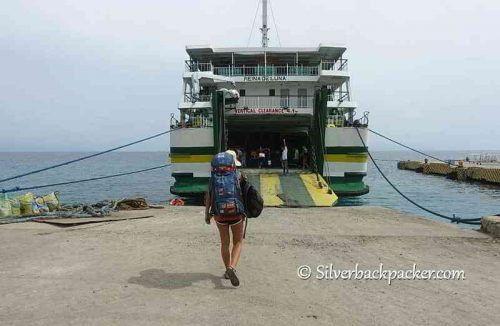 Boarding a ferry in the Philippines. 12GoAsia Travel