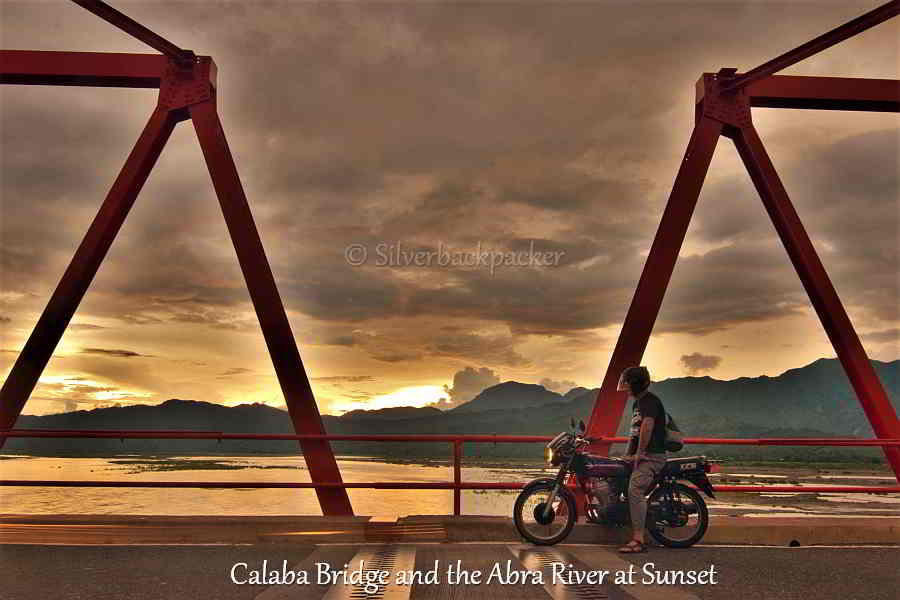 Calaba Bridge and the Abra River at Sunset