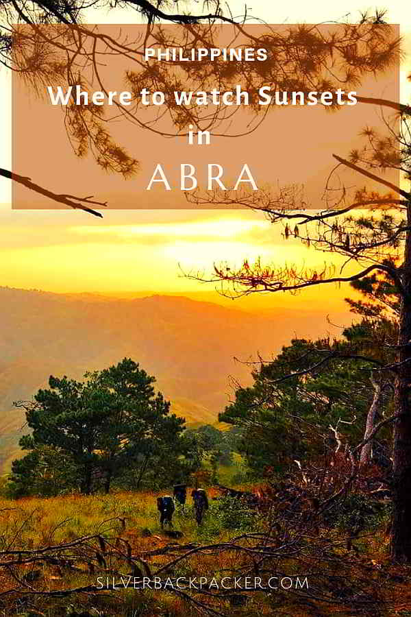 Where to see Sunset in Abra, Philippines