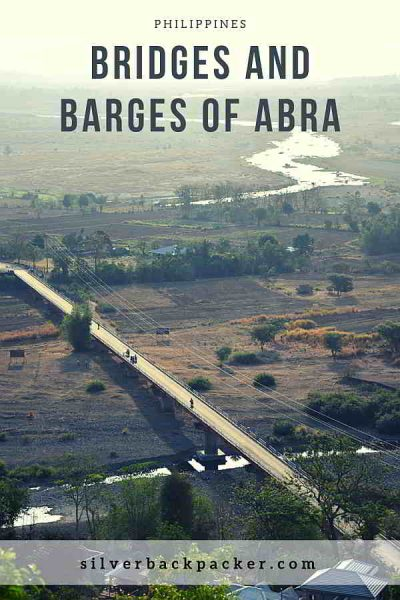 Bridges , Barges and River crossings of Abra, Philippines