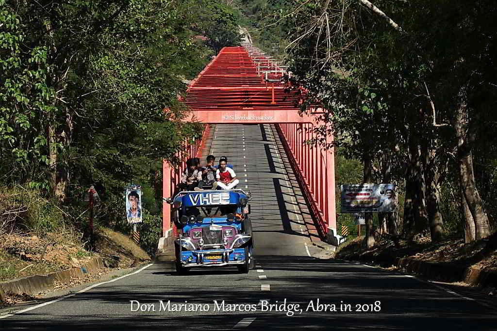 Don Mariano Marcos Bridge, Abra, Philippines