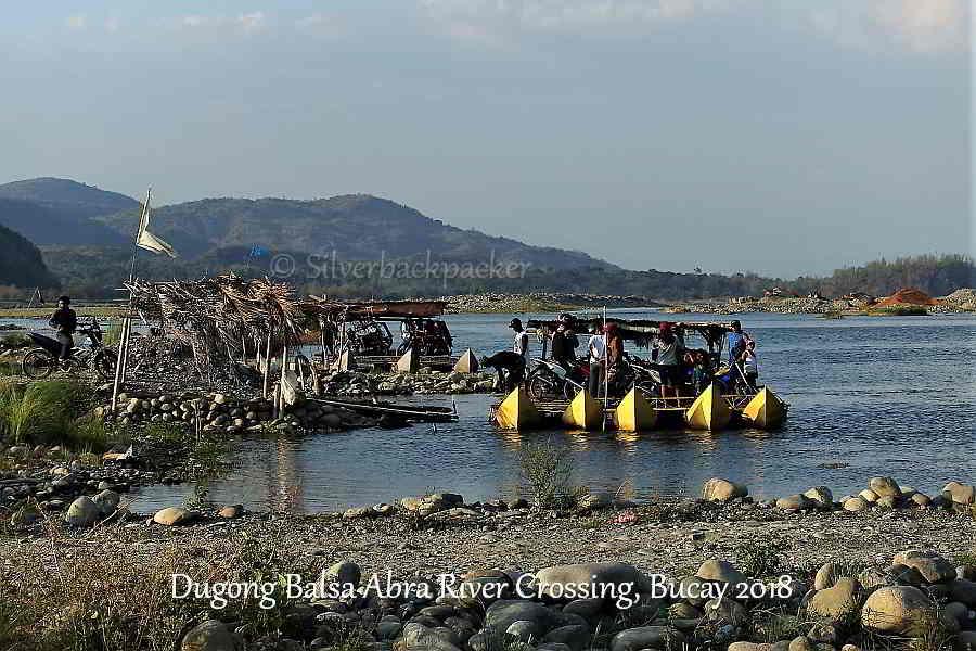 Dugong Balsa crossing, Bucay, Abra